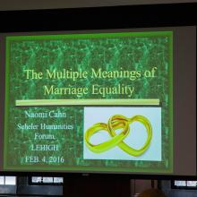 The Multiple Meanings of Marriage Equality